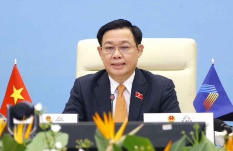 Toàn văn phát biểu của Chủ tịch Quốc hội Vương Đình Huệ tại Phiên họp toàn thể AIPA 42