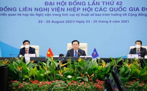 Bế mạc Đại hội đồng Liên nghị viện Hiệp hội các nước Đông Nam Á lần thứ 42