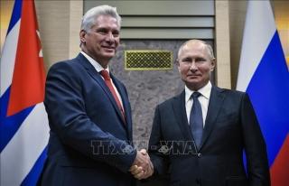 Lãnh đạo Cuba cảm ơn sự hỗ trợ nhân đạo kịp thời của Nga