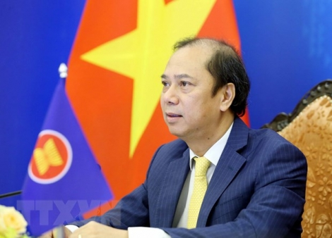 Bổ nhiệm lại Thứ trưởng Bộ Ngoại giao Nguyễn Quốc Dũng