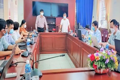Bí thư Tỉnh ủy: Thăm, động viên Đội ứng dụng công nghệ thông tin hỗ trợ lấy mẫu xét nghiệm sàng lọc SARS-CoV-2