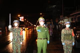 Bộ đội Sư đoàn 5 giữa tâm dịch