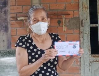 Hội LHPN xã Lộc Ninh: Hỗ trợ cho một hội viên khó khăn