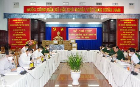 Thứ trưởng Bộ Quốc phòng: Kiểm tra công tác phòng chống dịch Covid-19 tại Tây Ninh