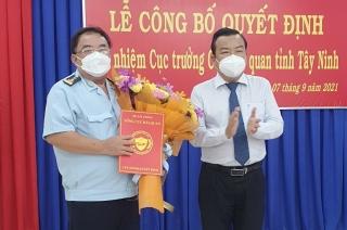 Ông Nguyễn Văn Bổng giữ chức vụ Cục trưởng Cục Hải quan Tây Ninh