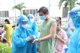 Phường 3: Xét nghiệm sàng lọc SARS-CoV-2 trên địa bàn
