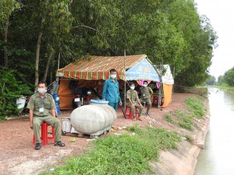 Quyết tâm phòng, chống dịch vùng giáp ranh thành phố Hồ Chí Minh