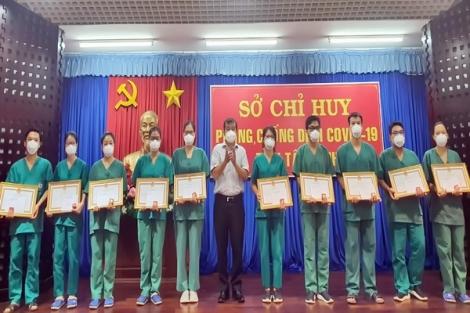 Đoàn y tế tỉnh Quảng Ninh: Kết thúc hỗ trợ phòng, chống dịch Covid-19 tại Tây Ninh