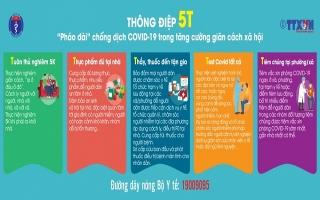 Tăng cường công tác thông tin, tuyên truyền phòng, chống dịch Covid-19
