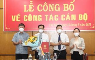 Ông Đoàn Minh Long giữ chức vụ Chánh Văn phòng UBND tỉnh