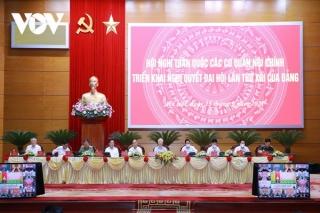 Tổng Bí thư dự hội nghị toàn quốc các Cơ quan Nội chính triển khai NQĐH 13
