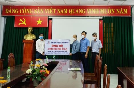 Công ty Điện lực Tây Ninh: Đóng góp tích cực trong phòng, chống dịch Covid-19