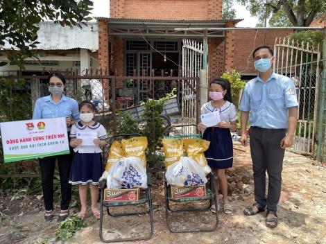 Hội đồng Đội thị xã Hoà Thành: Đồng hành cùng thiếu nhi vượt qua đại dịch Covid-19