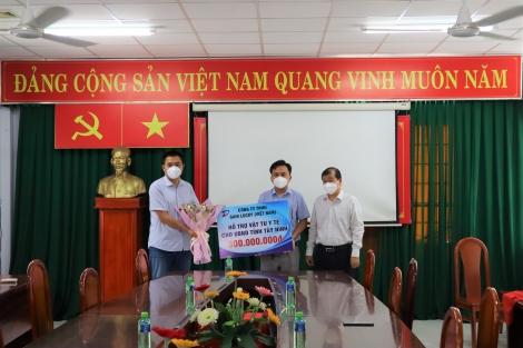 Tiếp nhận vật tư y tế từ Công ty TNHH Gain Lucky