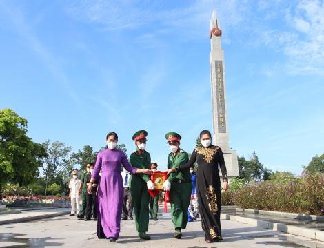 Huyện Gò Dầu: Tổ chức lễ truy điệu và an táng hài cốt liệt sĩ