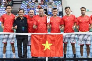 Tuyển quần vợt Việt Nam giành tấm vé lên đấu play-off David Cup nhóm II thế giới năm 2022