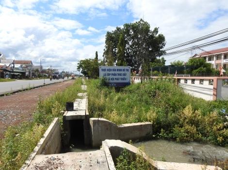 Trường tiểu học Bàu Đồn không còn tình trạng bị ngập nước cục bộ