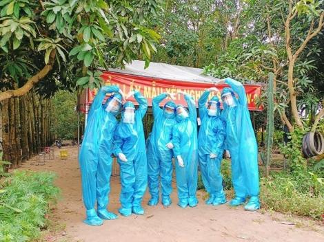 Tuổi trẻ Châu Thành tích cực tham gia phòng, chống dịch