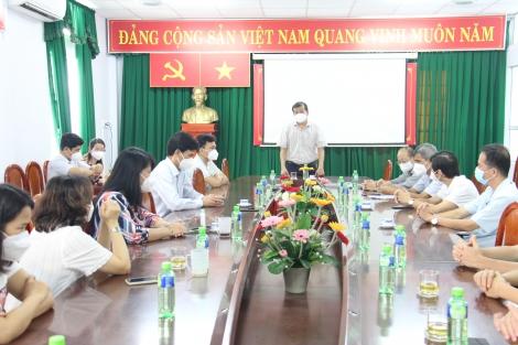 Hoàn thành hỗ trợ phòng, chống dịch Covid-19 tại Tây Ninh