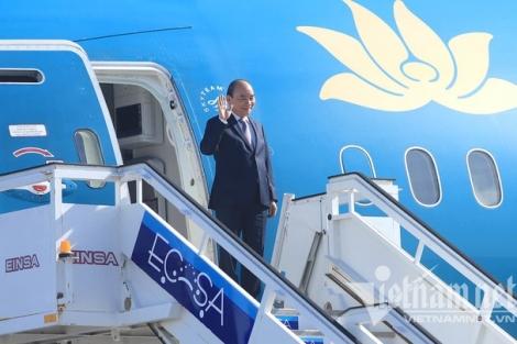 Chủ tịch nước Nguyễn Xuân Phúc đến La Habana, bắt đầu thăm chính thức Cuba