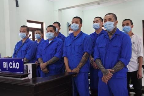 Hỗn chiến, 9 côn đồ bị xử phạt 24 năm 6 tháng tù