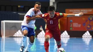 AFC khen ngợi sự kiên cường của tuyển futsal Việt Nam