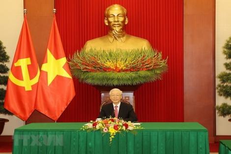 Tổng Bí thư Nguyễn Phú Trọng điện đàm với Tổng Bí thư, Chủ tịch nước Trung Quốc Tập Cận Bình