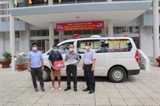 Sở Y tế: Tiếp nhận xe cứu thương phục vụ công tác phòng, chống dịch Covid-19