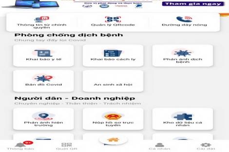 Ứng dụng Tây Ninh Smart: Nhiều tiện ích
