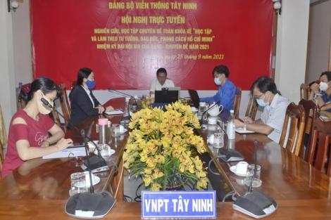 """Triển khai """"Học tập và làm theo tư tưởng, đạo đức, phong cách Hồ Chí Minh về ý chí tự lực, tự cường và khát vọng phát triển đất nước phồn vinh, hạnh phúc"""""""