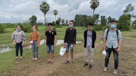 Đồn Biên phòng Tân Hà: Bắt 6 đối tượng xuất cảnh trái phép sang Campuchia
