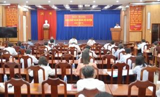 Đảng bộ huyện Tân Châu: 9 tháng kết nạp 59 đảng viên, đạt 59%