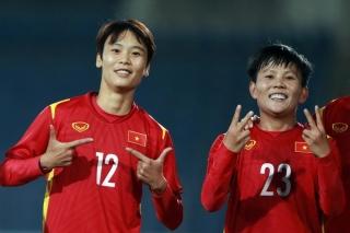 Giành vé Asian Cup 2022, tuyển nữ Việt Nam được thưởng 500 triệu đồng