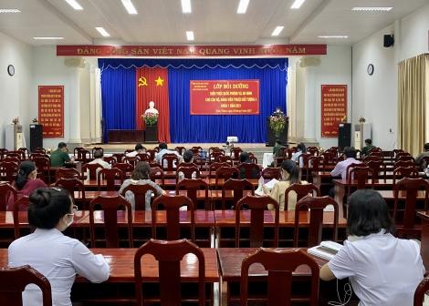 Khai giảng lớp bồi dưỡng kiến thức quốc phòng, an ninh năm 2021