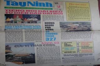 Tâm tình cộng tác viên: Đọc lại tờ báo Tây Ninh cuối tuần