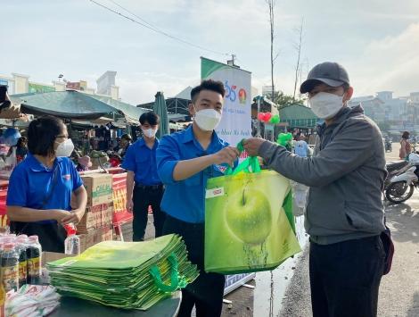 """Hoà Thành: Tổ chức chương trình """"Chợ dân sinh giảm thiểu rác thải nhựa"""" năm 2021"""