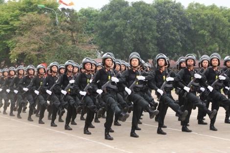 Dự án Luật Cảnh sát cơ động  đáp ứng yêu cầu nhiệm vụ trong tình hình mới
