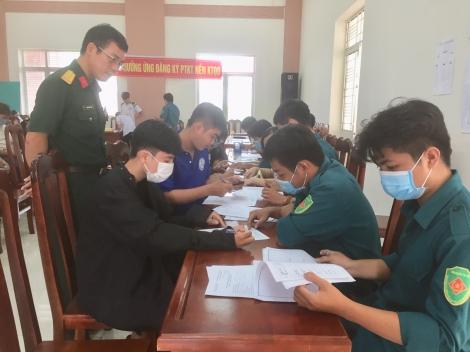 Hòa Thành: Xét duyệt nghĩa vụ quân sự năm 2022