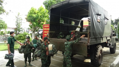 Biên phòng Tây Ninh: Tiếp nhận 250 cán bộ, chiến sĩ tăng cường chống dịch Covid-19