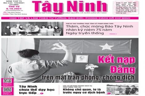 Điểm báo in Tây Ninh ngày 06.10.2021