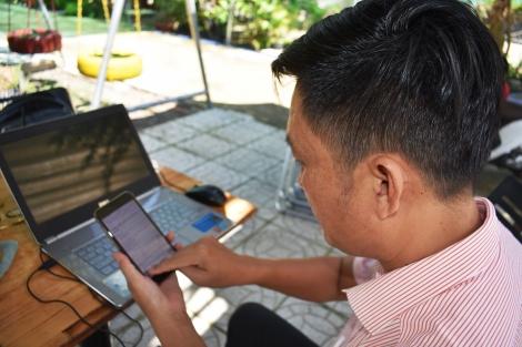 Huyện Dương Minh Châu: Đẩy mạnh thanh toán trực tuyến lĩnh vực đất đai