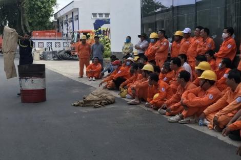 Công ty Điện lực Tây Ninh đảm bảo an toàn phòng cháy chữa cháy