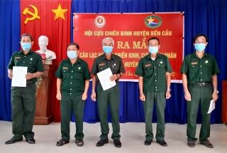 Bến Cầu: Ra mắt Câu lạc bộ Cựu chiến binh-Cựu quân nhân làm kinh tế
