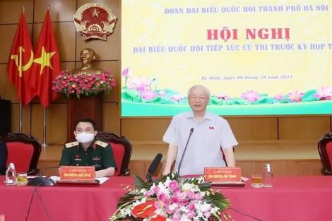 Tổng Bí thư Nguyễn Phú Trọng: Tuyệt đối không chủ quan, lơ là, tự mãn trước dịch Covid-19