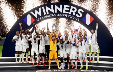 Pháp vô địch Nations League sau màn ngược dòng trước Tây Ban Nha