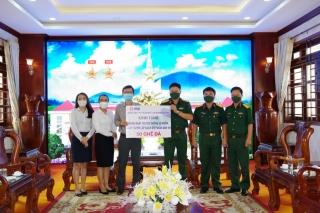 Ngân hàng Quân đội chi nhánh Tây Ninh: Thăm, tặng quà Sư đoàn 5