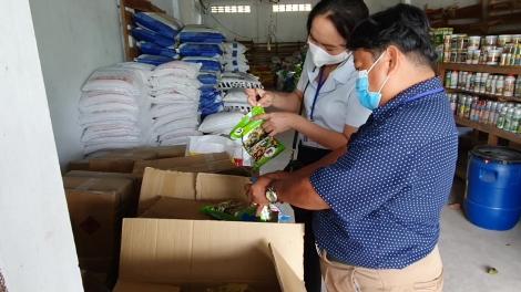 Thanh tra các cơ sở sản xuất và kinh doanh phân bón, thuốc bảo vệ thực vật, hạt giống, cây giống lần 3 năm 2021