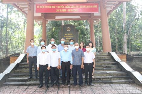 Ban Dân vận Tỉnh ủy: Họp mặt kỷ niệm 91 năm ngày thành lập ngành