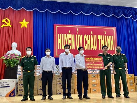 Thăm, tặng quà hỗ trợ người dân huyện Châu Thành