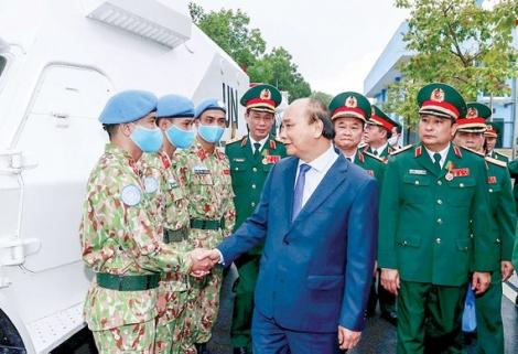 Tuyên dương các tập thể, cá nhân trong hoạt động gìn giữ hòa bình Liên hiệp quốc